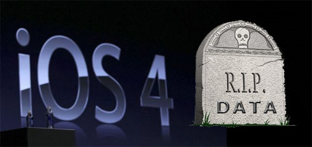 IOS4 3G Data Broken