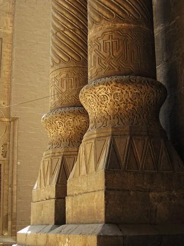 Columns Bases - Masjid Al Rifai مسجد الرفاعي / Cairo / Egypt - 28 05 2010