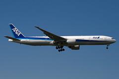 JA732A - 27038 - All Nippon Airways - ANA - Boeing 777-381ER - 100617 - Heathrow - Steven Gray - IMG_5107