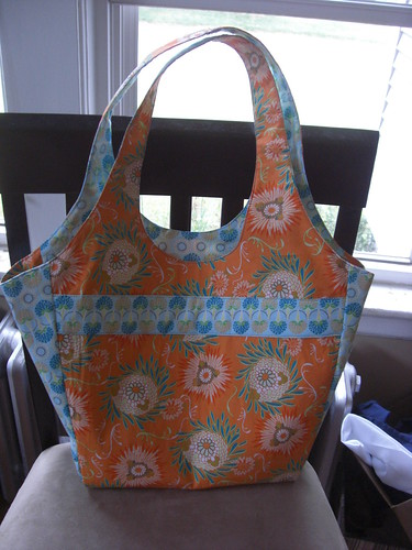 Another Market Bag - Back - folded in
