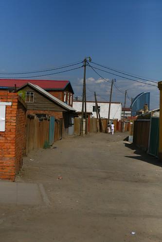 Une rue à UB