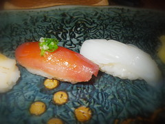 鮪魚、花枝