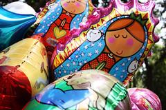 Virgencita de Guadalupe (ZuGab) Tags: balloon coyoacan globos helio virgencita distroler