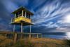 The Entrance Beach at Night (-yury-) Tags: ocean nightphotography sea sky moon storm tower beach night clouds australia moonrise nsw centralcoast ночь theentrance пляж supershot австралия abigfave