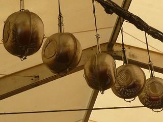 collanders as light fixtures