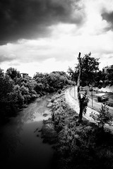 The River (Konstantinos Besios) Tags: blackandwhite bw river larisa vilsoniusphotography sonynex5