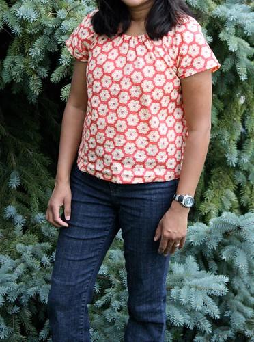 Flower power shirt - simplicity 3825