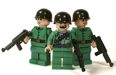 USMC Marines (*Nobodycares*) Tags: soldier amazing sand lego awesome wwii worldwarii ww2 americans guns marines worldwar2 allies allied brickarms sluban