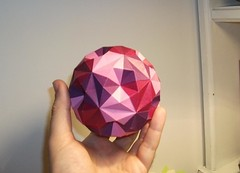 Ball (mancinerie) Tags: origami paperfolding modularorigami tomokofuse davidbrill