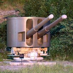 Oscarsborg - this gun started its career on the Graf Zeppelin (Quistnix!) Tags: gun cannon artillery fortress festning oscarsborg grafzeppelin rheinmetall