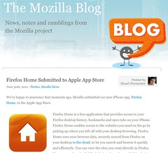 The Mozilla Blog - Firefox Home submitted to App Store