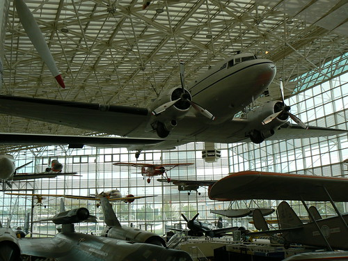 DC-3 in the Great Hall by K.W. Hecteman