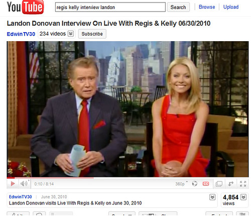regis and kelly wear red