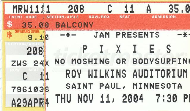 PIXIES - 2004.11.11
