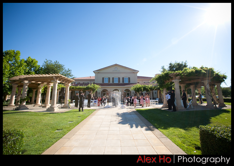 ruby hill ceremony pleasanton california golf course