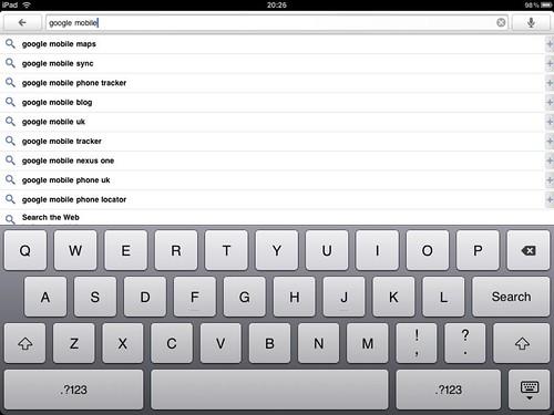 google ipad app
