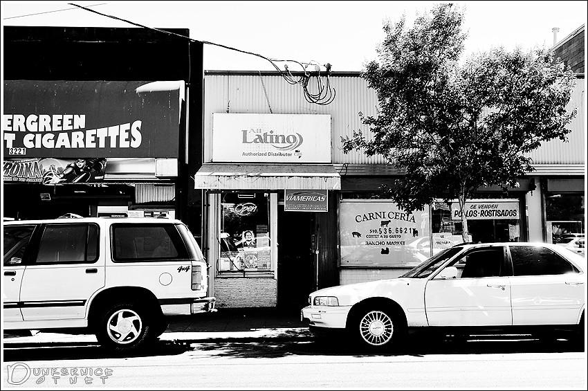 Latino B&W.