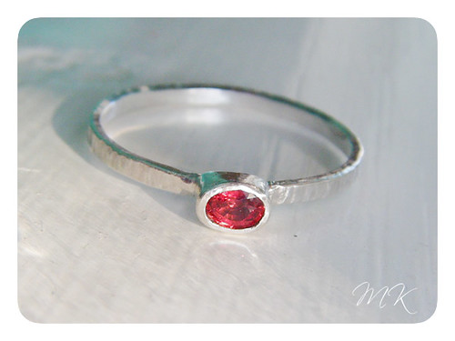 sterling saphire ring 2