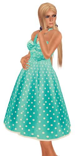 50L Friday Doppelganger dress