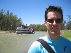 A Steam Powered Ferry, Mildura