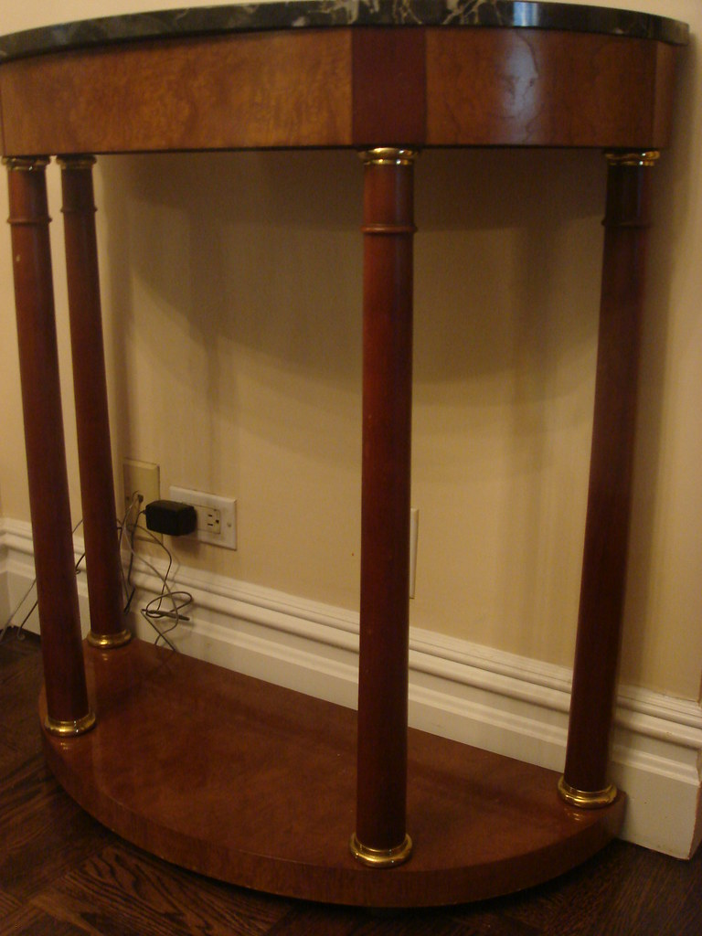 Dining Set: Semi-circle Console Table (Photo 1 of 2)