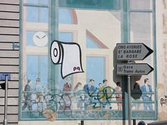 PQ & Or in Marseille (tofz4u) Tags: streetart france pasteup collage poster cotedazur billboard provence 13 affiche pq frenchriviera artderue bouchesdurhne or