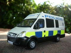 1/43 Code 3 West Midlands Police Iveco Daily Public Order Unit (alan215067code3models) Tags: old uk 3 west london public leaving code die order cops police daily cast gift present british emergency job pursuit iveco retierment midlands unit 999 143