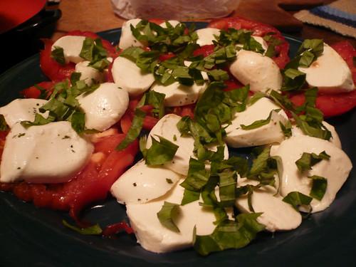 tomato/basil/mozz