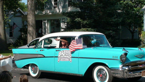 Classic Car at Beecher Independence Day Parade