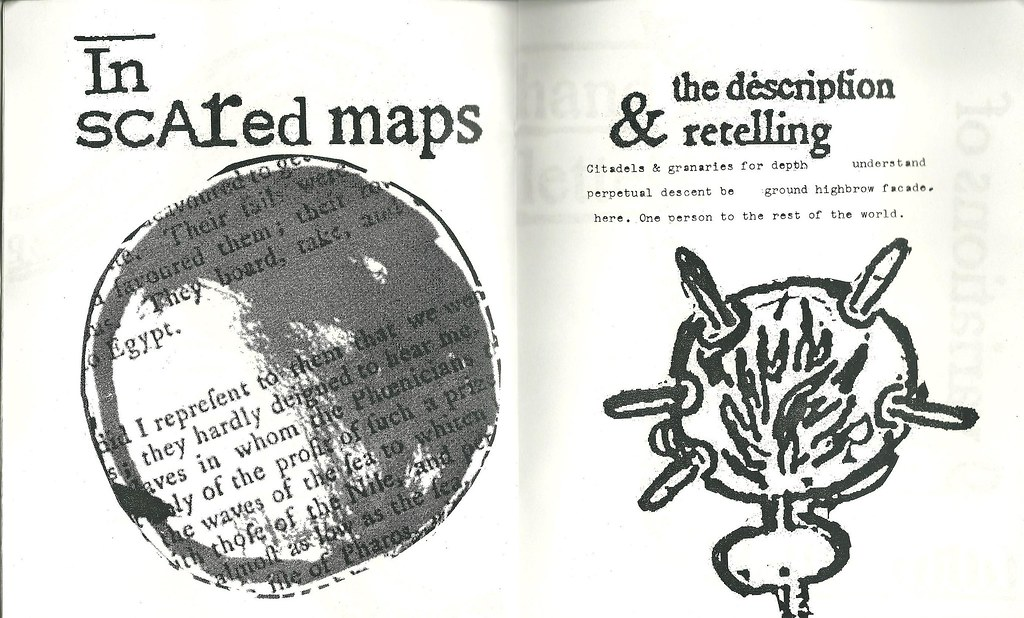 Inside scan of Jo Cook's zine