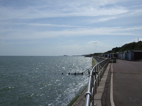 Clacton Pier in the distance