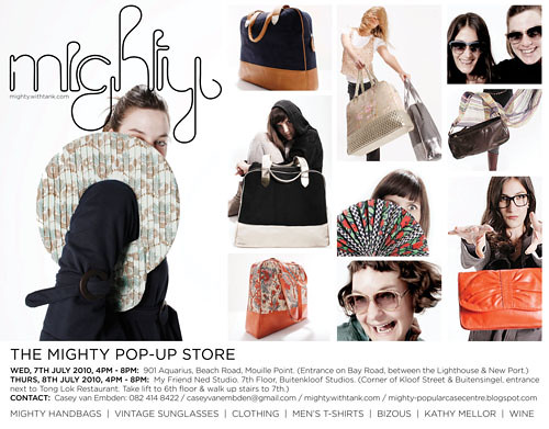 Mighty pop-up store