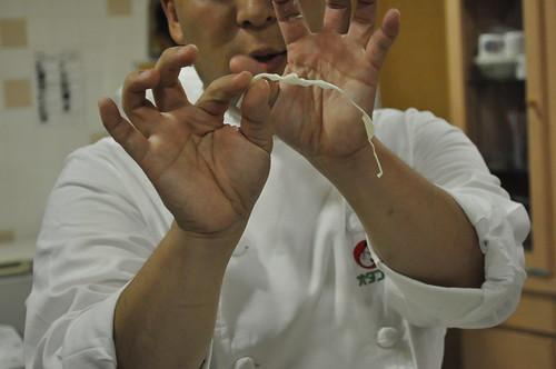 オタフクソース 広島お好み焼き キャベツの切り方