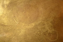 Gold Platter Detail (stockerre) Tags: old red orange brick texture n