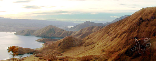 View from Tele, Danau Toba