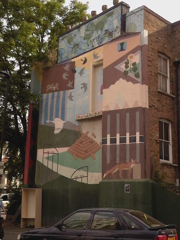 Bellfields Road Brixton Mural 1