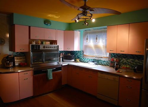 vintage kitchen- almost done