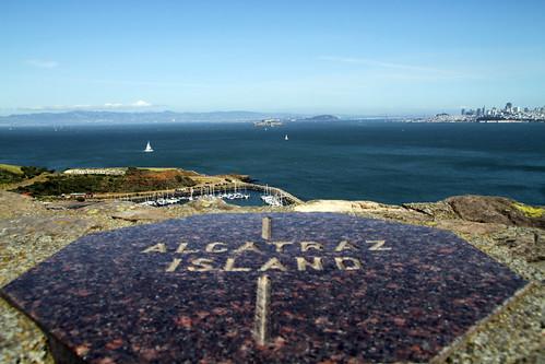 La Roca desde el Golden Gate