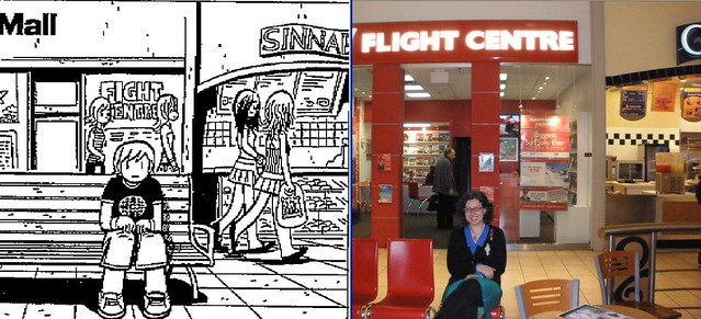 Scott Pilgrim Toronto Canada Flight Centre