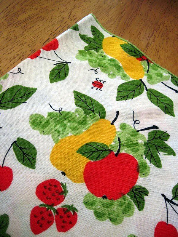 Vintage Vera Napkin- Fruit