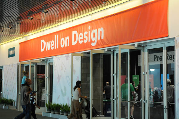 Dwell on Design Entrance