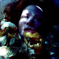 Les Fleurs du Mal (Helen Warner (airgarten)) Tags: flowers selfportrait cold girl dark death frozen elizabeth mourning time queen funeral historical novel homage royalty baudelaire