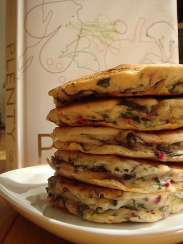 CSA Summer 4: Savory Buttermilk Pancakes