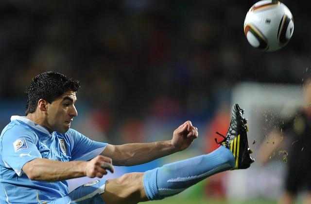 Mundial Sudáfrica Alemania Uruguay Luis Suarez