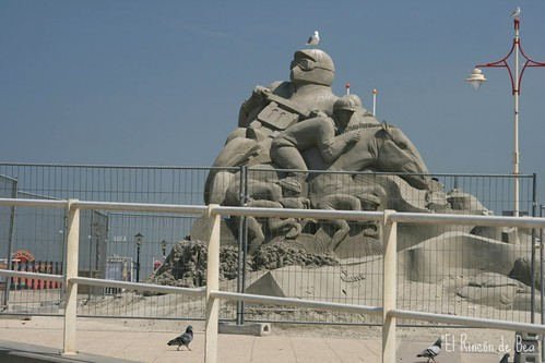 Escultura de arena, Scheveningen
