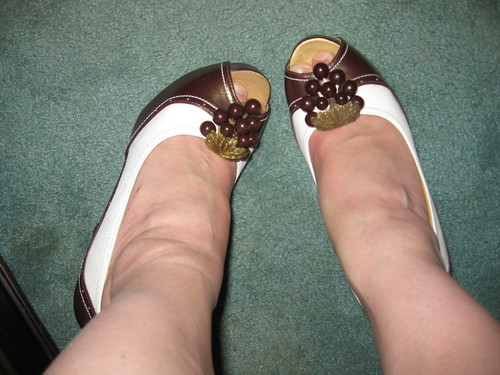 Grapes On My Toes!