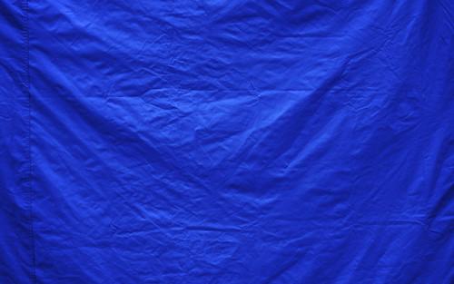 A Blue Tent For A Blue Garden