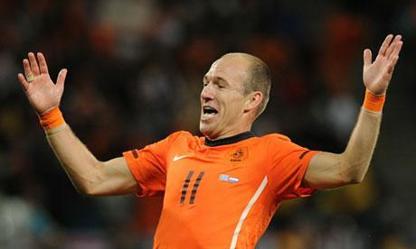 Robben got Robbed