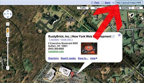 Google Maps URL Shortener