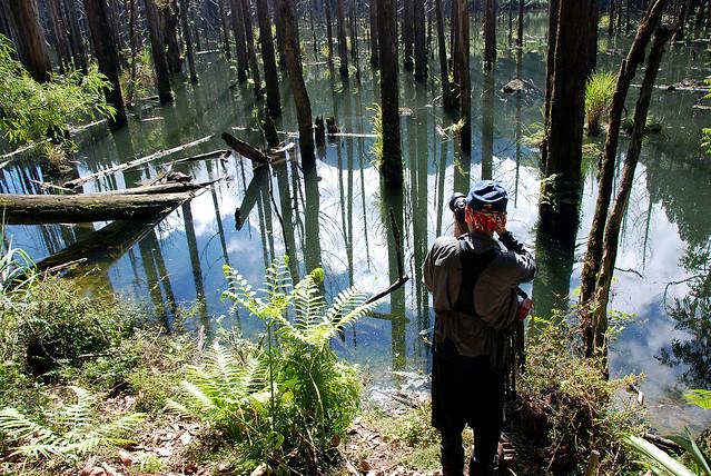 藍天白雲湖水...財大師